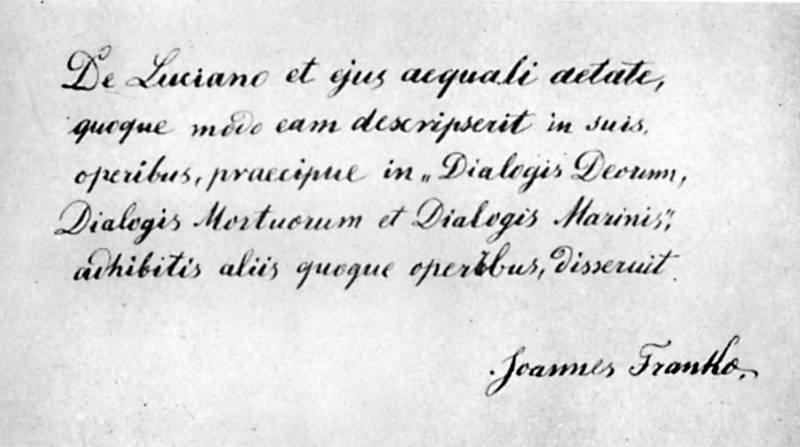 Іван Франко - «Лукіан і його епоха»…