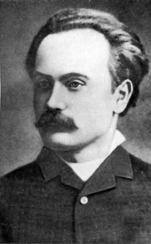 Иван Франко. Фото 1886 г.