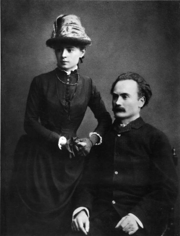 Ivan Franko and his wife - Olga…