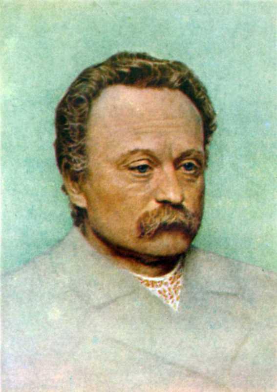 Ф. Красицкий. Портрет И. Франко, 1909 г.