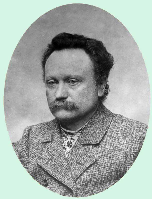 Іван Франко. Фото І.Труша, 1900-ті роки