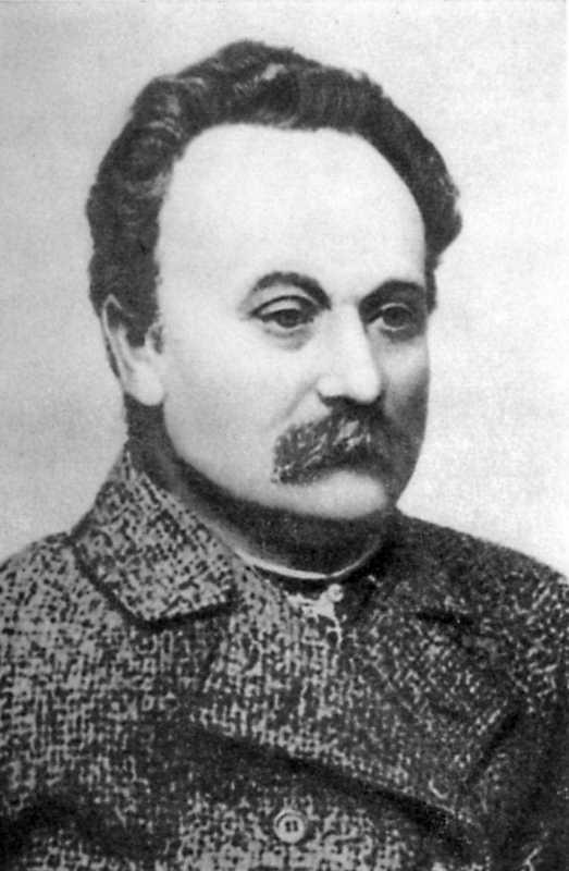 Иван Франко. Фото 1910 г.