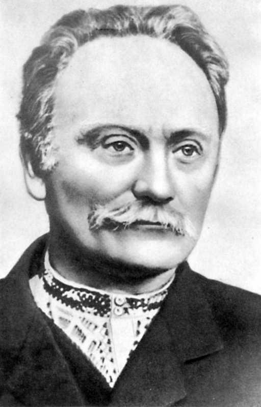 Ivan Franko. Photo 1910