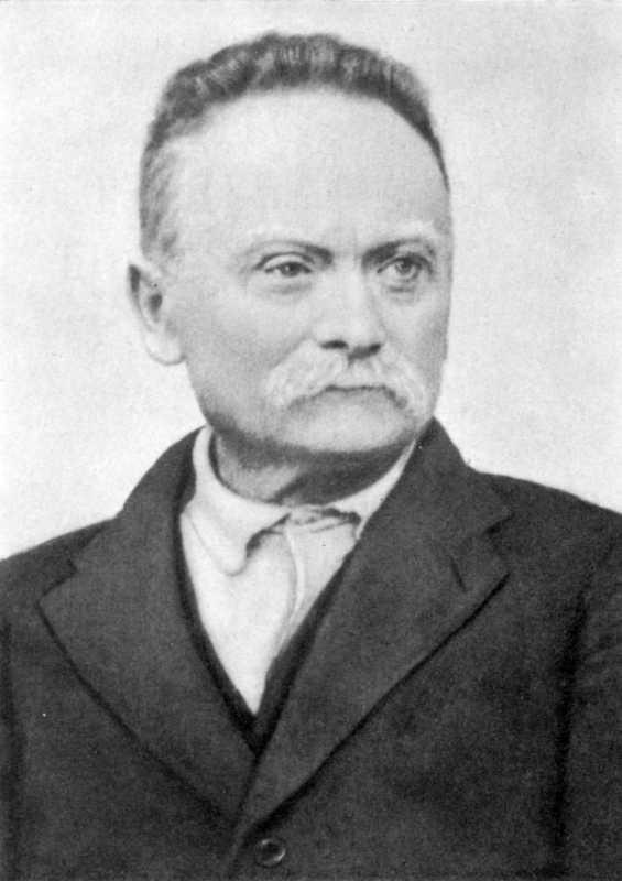 Ivan Franko. Photo 1912