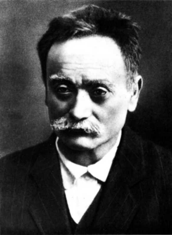 Ivan Franko. Photo 1913
