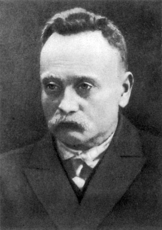 Іван Франко. Фото 1913 р.