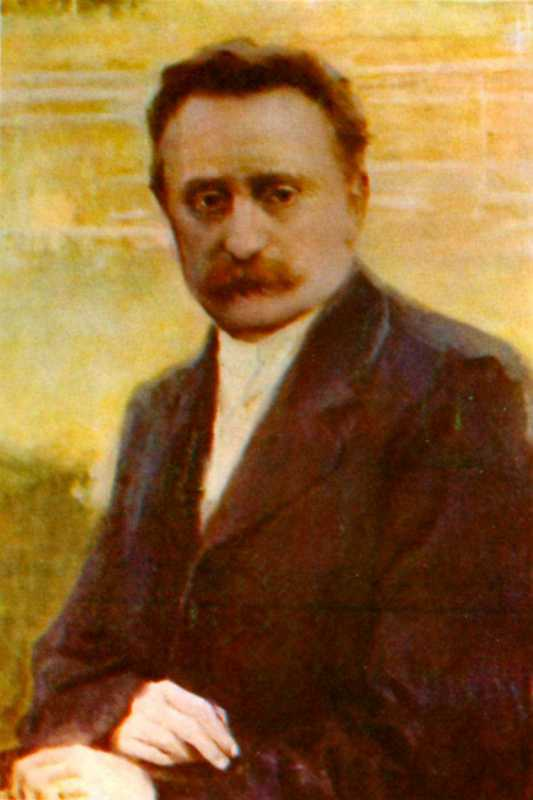 Иван Труш. Портрет Ивана Франко. 1913 г.